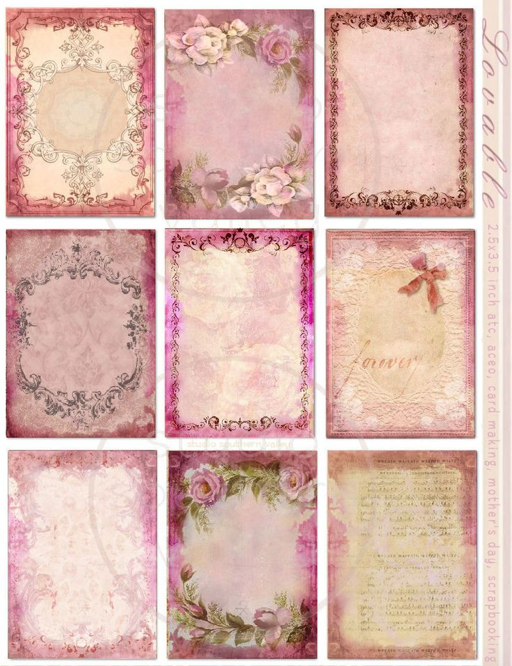 LOVABLE Instant Download Weathered Pink por StudioSouthernValley