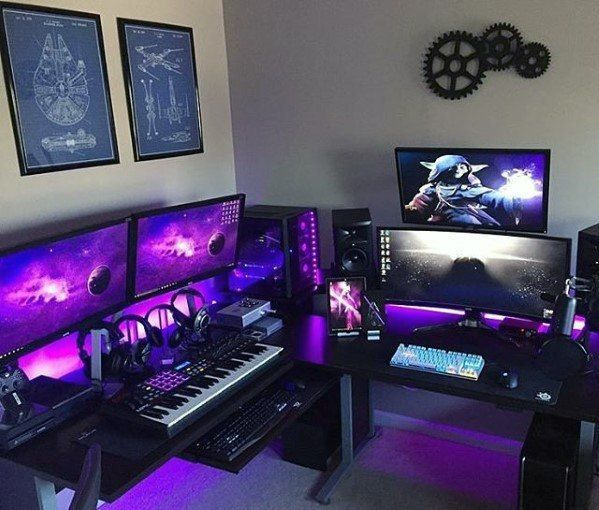 30 Awesome Gaming Room Setups 2020 Gamer S Guide Computer