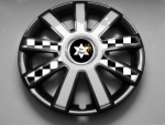 CAR FLAIR | Radzierblenden | Radkappen - Auto Radkappe (Radzierblende) für alle Mini Cooper Modelle extra für die Mini John Cooper Line.