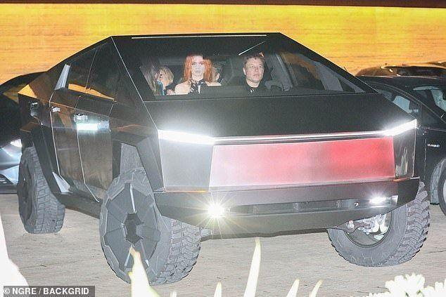 Elon Musk Is Driving Tesla S New Cybertruck Prototype Around La