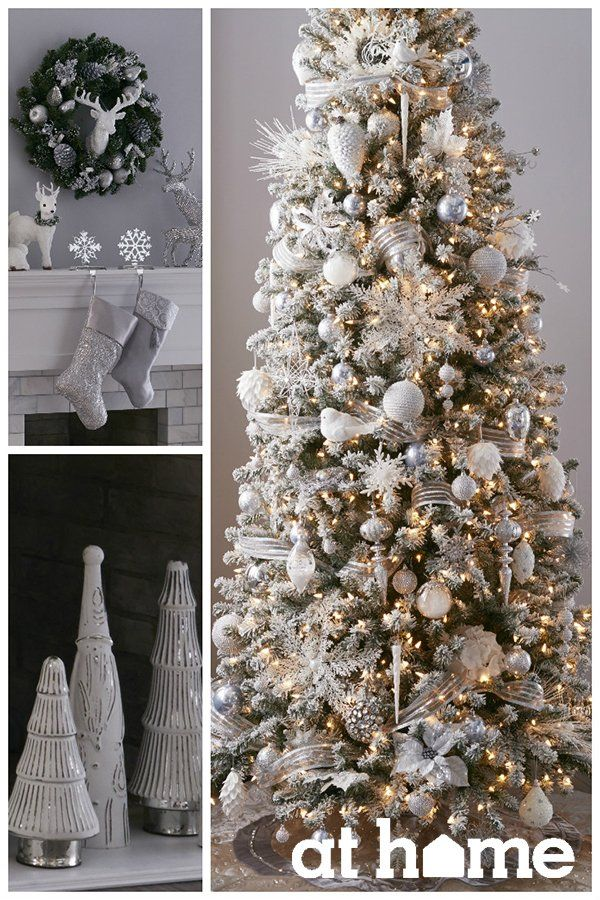 25 best ideas about silver christmas tree on pinterest silver christmas christmas trees and. Black Bedroom Furniture Sets. Home Design Ideas