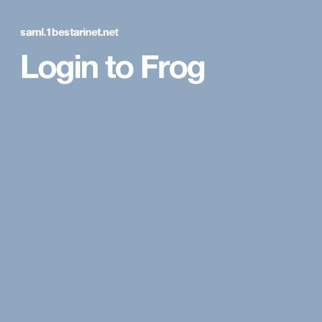 Login to Frog