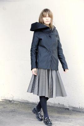 Black and white skirt | Adelina Ivan Studio