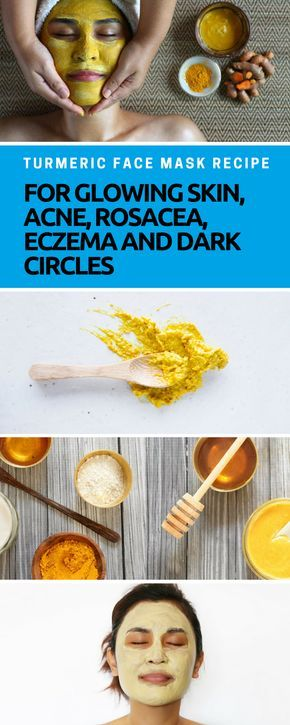 Turmeric Face Mask Recipe for Glowing Skin, Acne, Rosacea, EczemaTrip and Joy