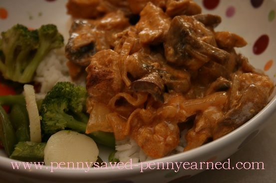 sour cream recipes yummly pork with paprika mushrooms and sour cream ...
