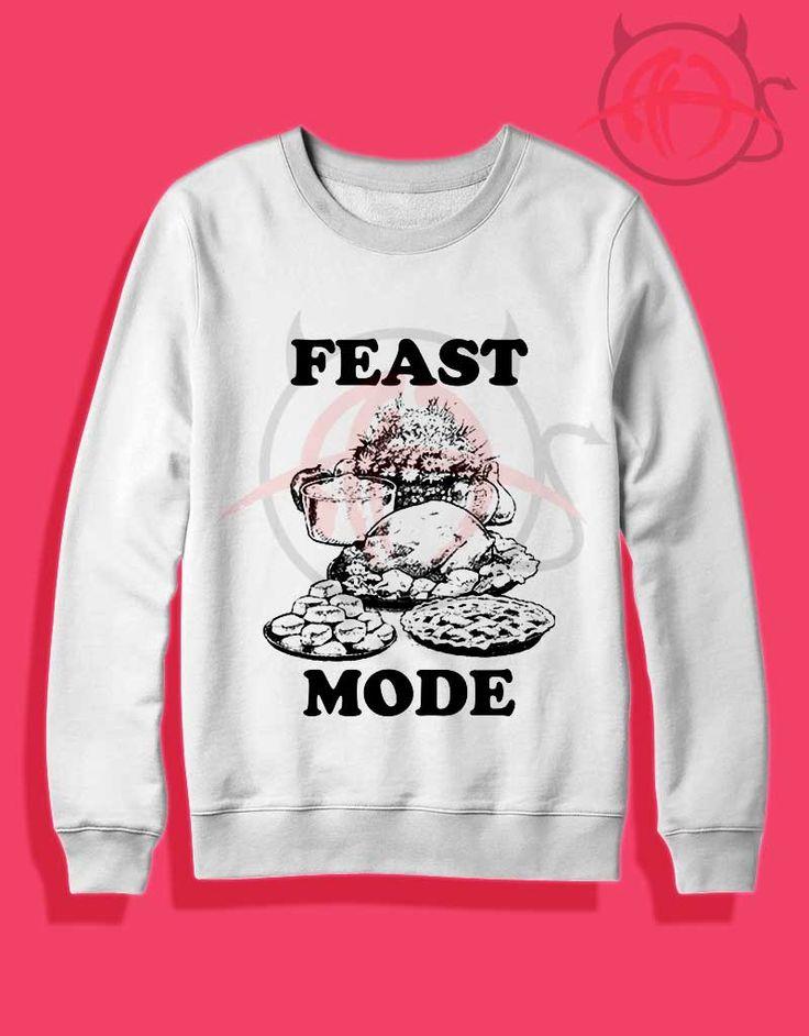 Feast Mode Thanksgiving Crewneck Sweatshirt //Price: $27.50