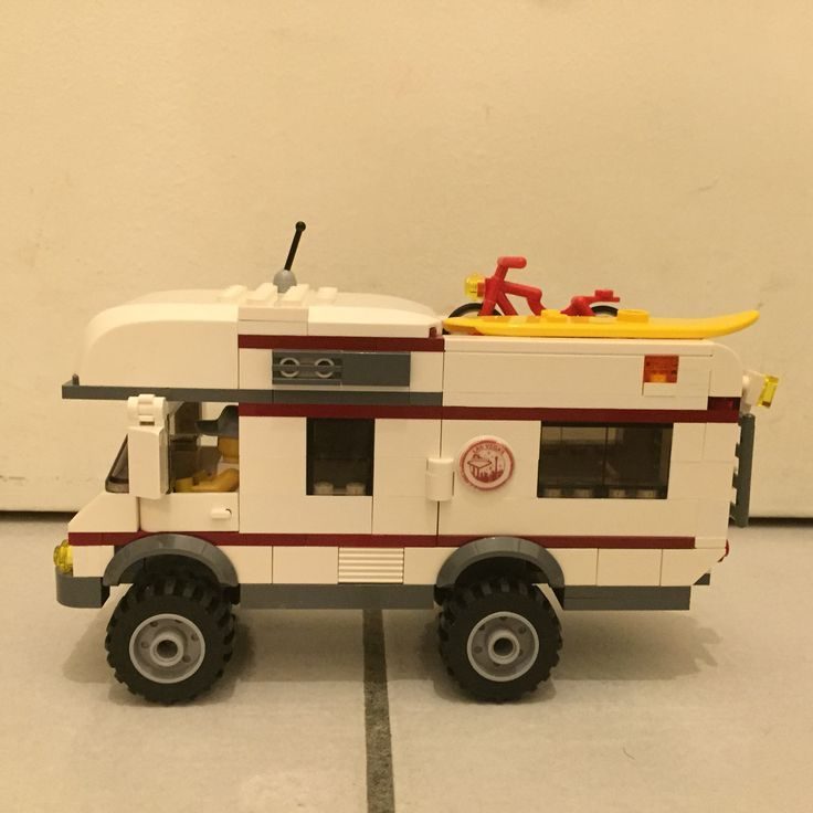 Innovative Lego Custom T1 10220 Bus Wohnwagen Camper Trailer 11  A Photo On