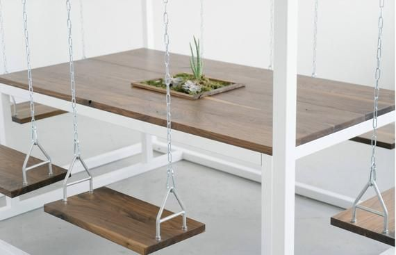 Swing Planter Table pivotantes en with 2019Chaises Box wnvmN08