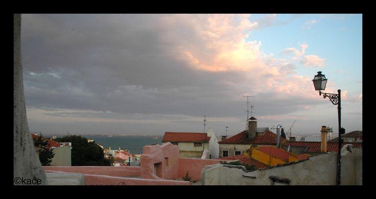 Alfama view by kacesan