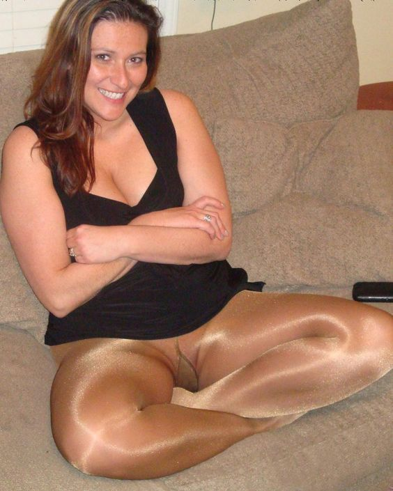 Free shiny pantyhose and and hairy