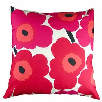 Marrimekko pillows. Created in 1960s. Still in style! I want these for my scandi style cream chairs!