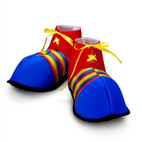 spooky Jumbo Clown Shoes - Costumes & Accessories & Props & Kits 6.6
