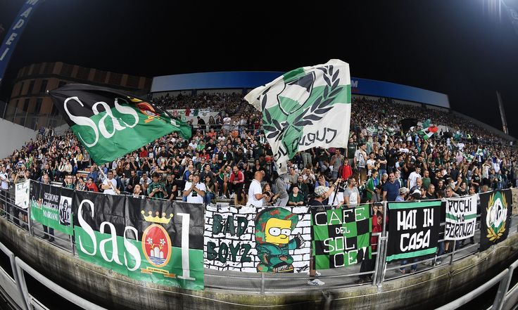 @Sassuolo i tifosi neroverdi del Sasòl #9ine