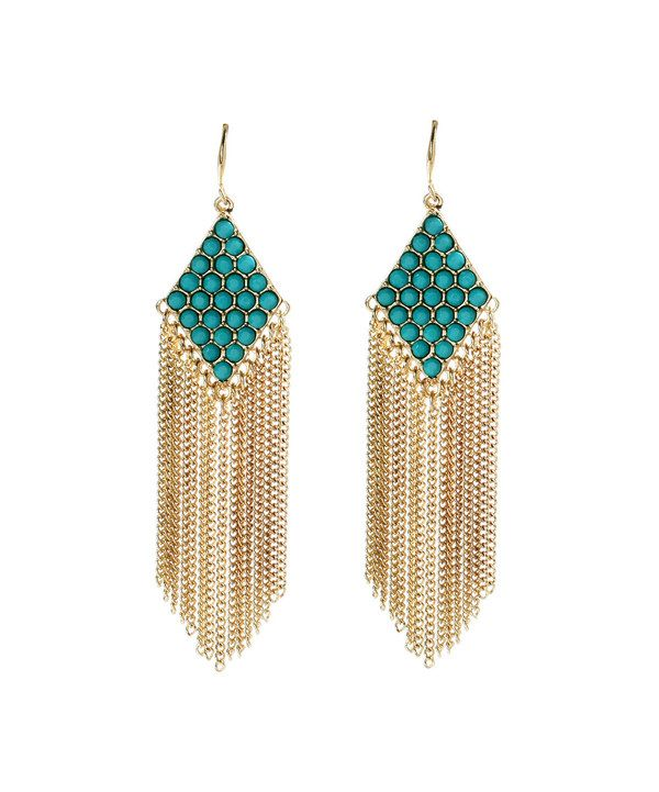 Love this Amrita Singh Turquoise Katie Drop Earrings by Amrita Singh on #zulily! #zulilyfinds