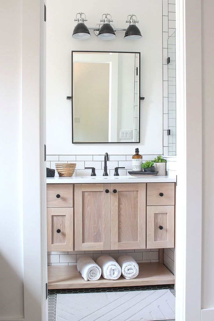 Subway Tiled Bathrooms Our Teenage Son Desinged A Classic White Subway Tile Bathroom With