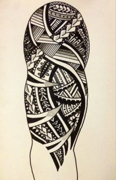 samoan tattoo | Tumblr #polynesian #tattoo                              …