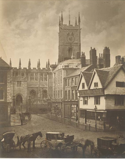Queen Square, Wolverhampton, circa 1873, P/4896, via Flickr.
