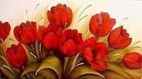 pintura em tela flores ile ilgili görsel sonucu