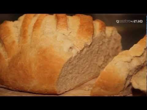 Receptvideó: házi fehér kenyér