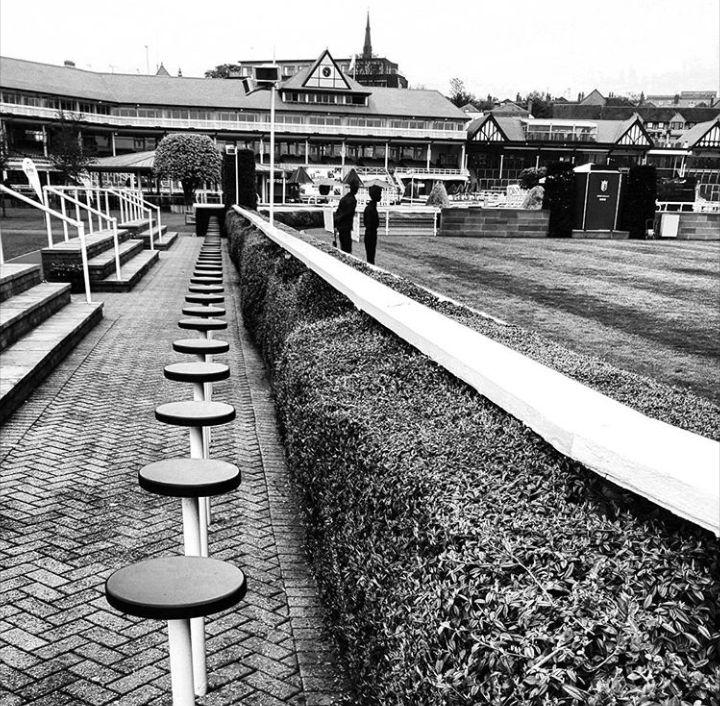Chester racecourse.