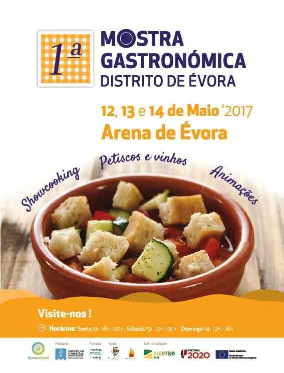 1ª Mostra Gastronómica do Distrito de Évora | Portal Elvasnews