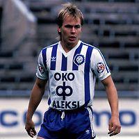 11.09.1988.Sami Yl?-Jussila - HJK Helsinki.©JUHA TAMMINEN