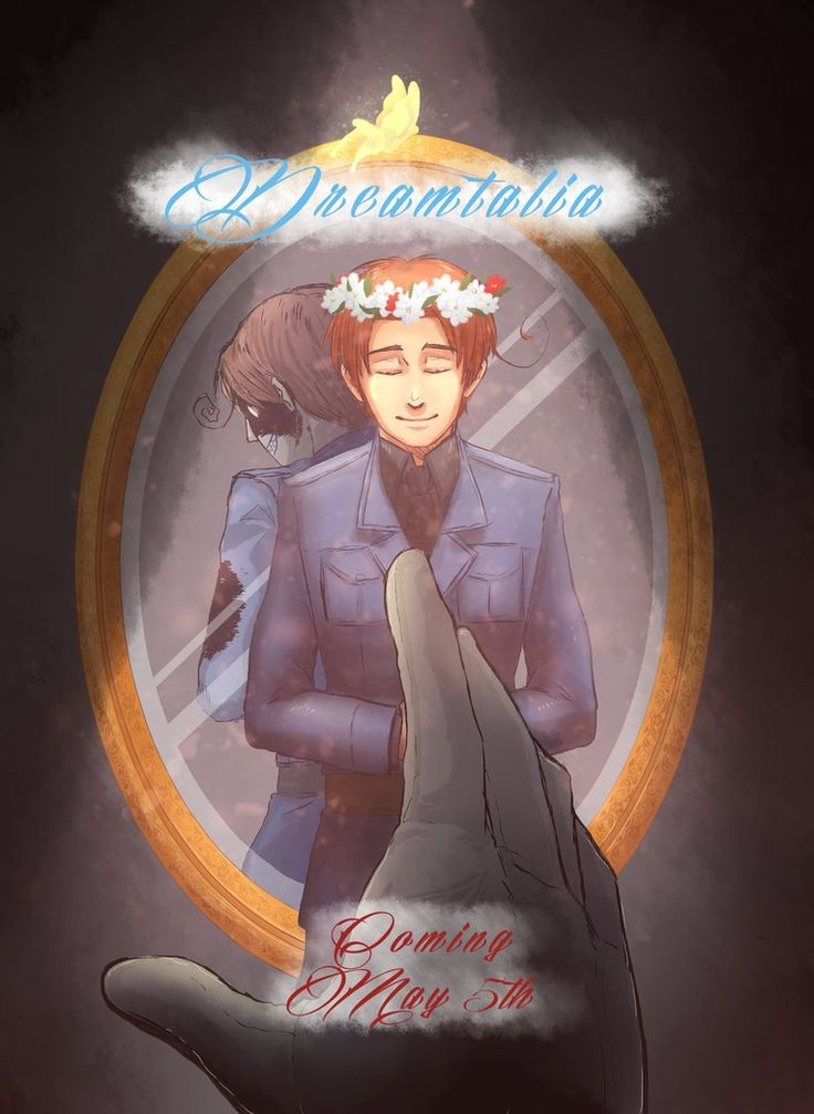 """Join the Hetalia Fandom"" They said- ""It'll be fun"" They said-  And there's Dreamtalia..  ;;^;;"