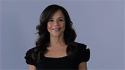 "Actually…    Rosie Perez on Mitt Romney's claim that Latino people have ""a leg up"""