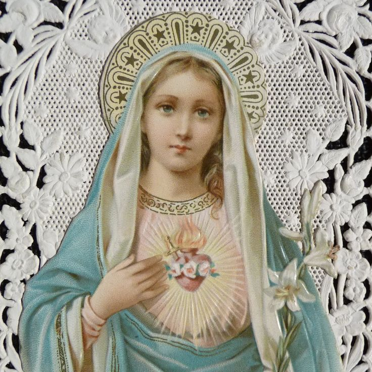 Immaculate heart.