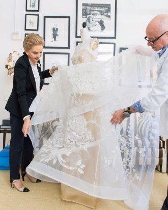 The making of a dress: Behind-the-Seams with Carolina Herrera & Martha Stewart Weddings
