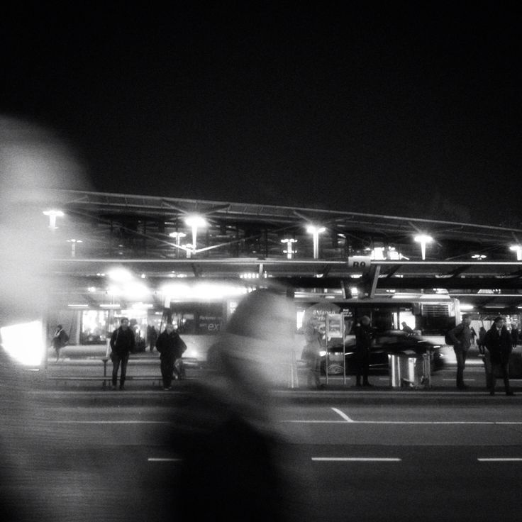 People passing by at schiphol airport