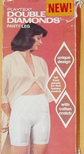 """Playtex """"Double Diamonds"""" - One of the firmest pantie girdles of its day."""
