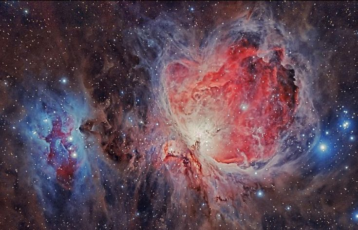 "Astronomy Posts! (@astronomypost.s) on Instagram: ""Orion Nebula - Located around 1,500 light-years away, the Orion Nebula is a very active stellar…"""