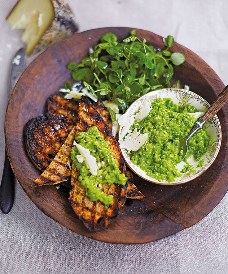 April Bloomfield turns classic mushy peas into an elegant spread in this minty and lemony recipe.