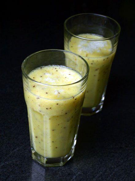 Smoothie vitaminé C pour l'hiver