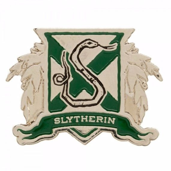 Harry Potter Slytherin House Crest Enamel by CollectiblesExpresUS