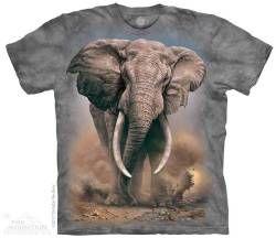 The Mountain Kids T-shirt | African Elephant