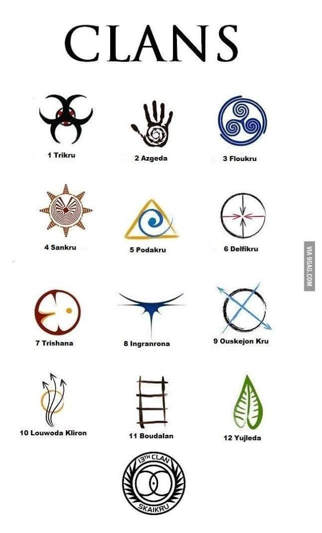 Las trece tribus