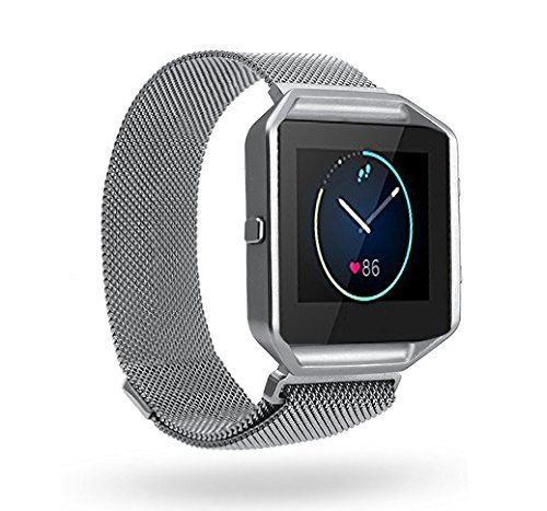 Fitbit Blaze Band BeneStellar Milanese Band With Frame for Fitbit Blaze Smart Fitness Watch