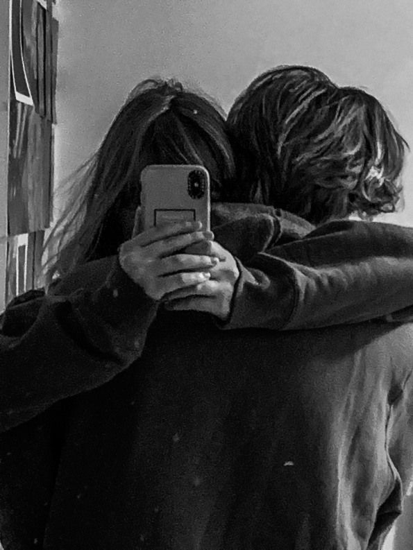 couple love no face mirror selfie #relationship in 2020