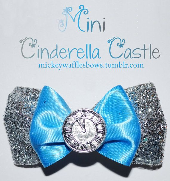 Mini Cinderella Castle Hair Bow