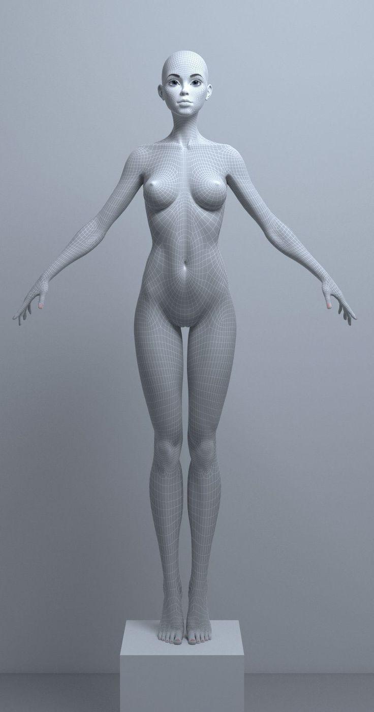 female art teacher male model