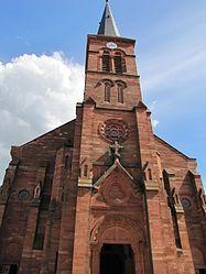 Église St Martin (Niederbronn-les Bains) - Wikimedia Commons