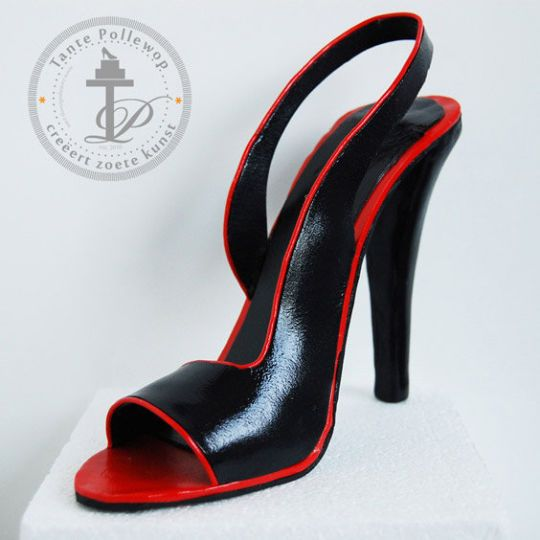 Designer High Heel Shoe Fondant