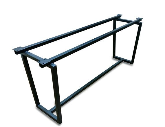The Universal Base is welded with 1.5 square raw steel tubing, giving the base guaranteed stability. This particular base functions best for