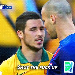 Can't we all just get along  #fightclub #WorldCupPrizes #soccer #fitness
