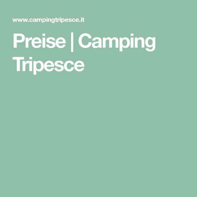 Preise | Camping Tripesce