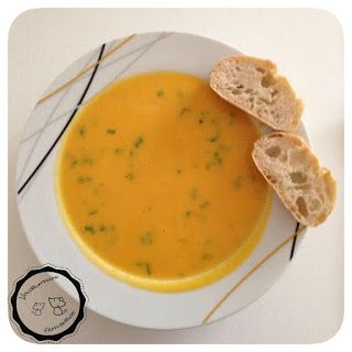 Herbstzeit ist Kürbiszeit - und Suppenzeit! Es gibt Kürbissuppe... - Zauberzicken