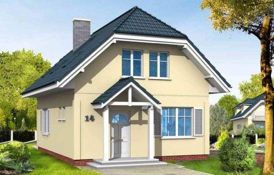 Projekt domu jednorodzinnego dla czteroosobowej rodziny. Dom Adaś został zaprojektowany z naczółkowym dachem. Wnętrze ukształtowano z podziałem na część ogólną, dzienną - z salonem oraz część prywatną oraz nocną z trzema sypialniami i łazienką.