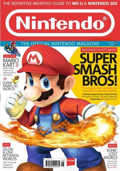 Dannii's Media Studies Blog: The Official Nintendo Magazine Nintendo er et spill merke. De lager spill som f.eks Super Smash Bros og Pokemon. Magasinet er for alle gamere. Forsiden viser et bilde av Mario. (Fra Super Smash Bros) Alle som liker Nintendo vet hvem de er og Nintendo appelerer mest til gamere som ikke kjenner dem fra før av.